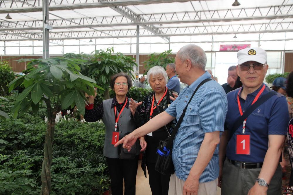 离退休工作处组织党员参观商河国家级农业科技园区